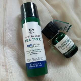 Tea Tree Oil n Night Lotion The Body Shop