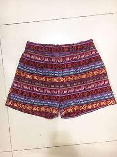 民族高腰泰國短褲 shorts from Thailand