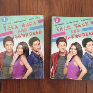 Wattpad book: Talk Back and You're Dead (1 and 2)