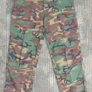 Long pants SAF