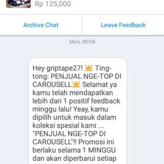 Tong...ting...trusted...seller