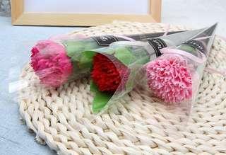 母親節禮物首選 香皂康乃馨