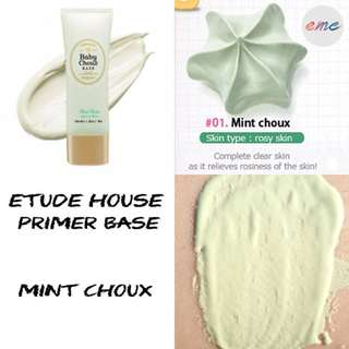 BN Etude House Baby Choux Base Mint