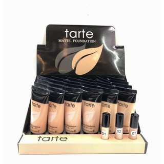 TARTE FOUNDATION MATTE WITH TESTER