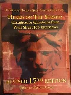 Heard on the Street