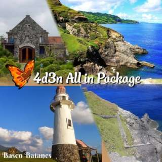 4d3n ALL IN BATANES PACKAGE WITH NORTH & SOUTH BATAN TOUR