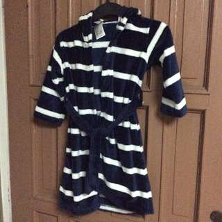 Brandnew H&M Navy Blue Boy's robe