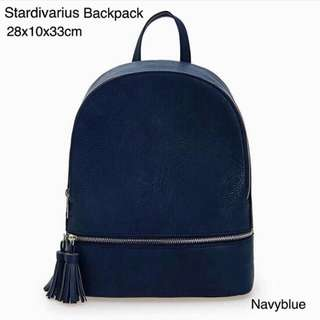Stradivarius Tassel Backpack Original