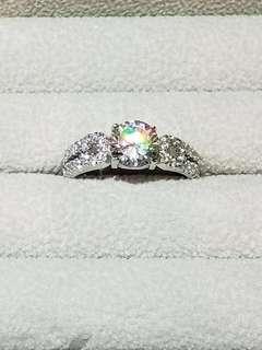 S925經典求婚鑽戒