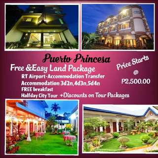 ALL IN LAND PACKAGES FOR PUERTO PRINCESA