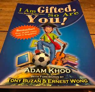 Adam khoo-I am gifted so are you!