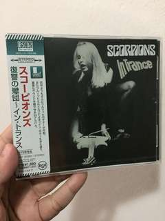 Scorpions - In Trance (Japanese Pressing)