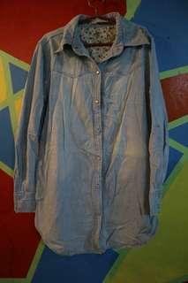 Denim blouse/dress