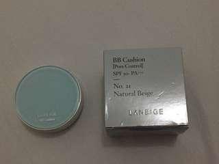 BB Cushion (Pore Control) SPF 50+ No. 21 (Natural Beige)