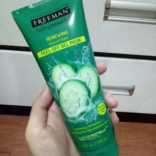 Freeman Mask 100% ORIGINAL Cucumber
