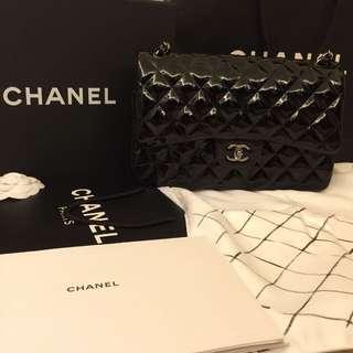 Chanel 100% real 漆皮 有單 自讓
