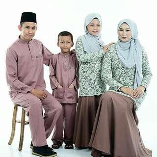 SET BAJU RAYA FAMILY