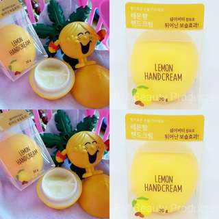 Organic Farm Korea Lemon Handcream 30g