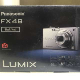 Panasonic FX48 Lumix Digital Camera