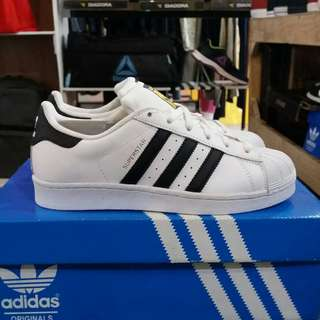 Adidas superstar FP white black original