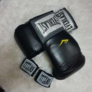 everlast pro style training gloves 10 oz.
