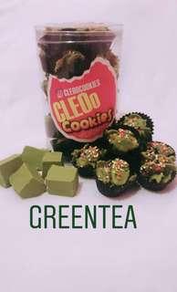 Greentea cornflakes