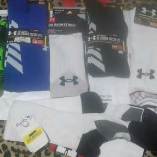 Under Armor Socks blue Authentic