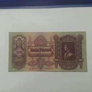 匈牙利國家銀行1930年紙幣