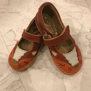Brand New Next Leather Toddler Girl Shoes