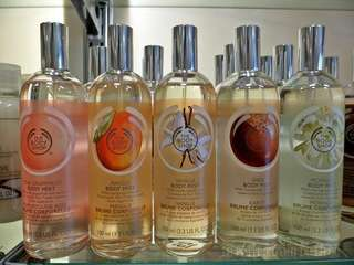Body shop body mist 100% ORIGINAL reject