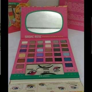 Smoke Rose Eyeshadow & Brow Palette BBROSE