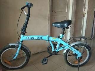Sepeda lipat ukuran 16 Aeoloca