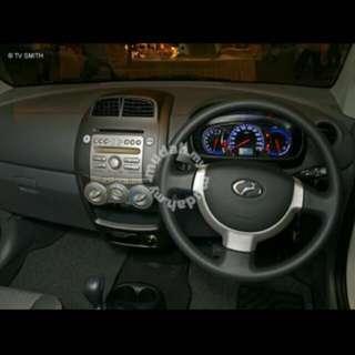 Dashboard Perodua Myvi