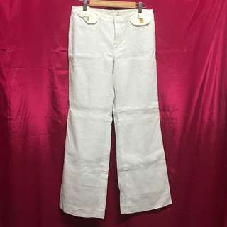 White Square Pants