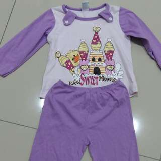 Girls Pyjamas 2 yo