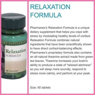 Relaxation Formula Capsule for lose of sleep and stress
