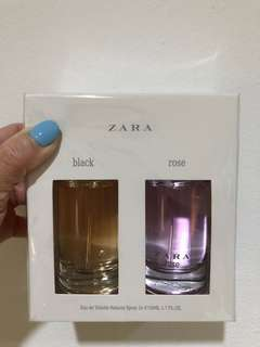 Eau de toilette spray black & rose