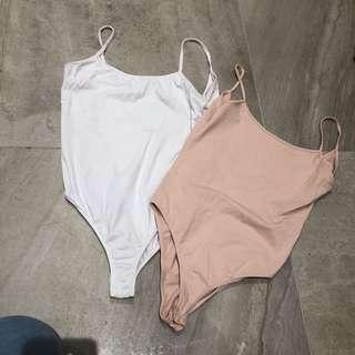 Two Zara bodysuits
