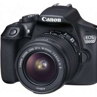 Kredit Dp ringan Canon EOS 1300D Kit 18-55mm Tanpa CC