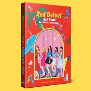 Red Velvet First Concert Photobook RED ROOM