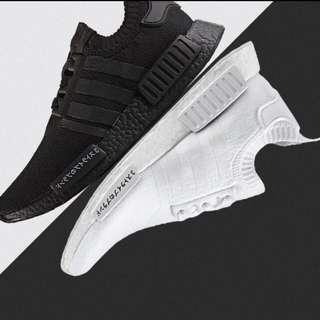 Adidas NMD Japan Edition Triple Black / White Sneaker