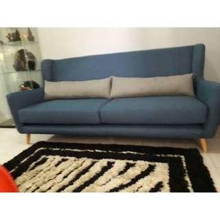 3 SEATER SCANDINAVIAN SOFA#furniture50