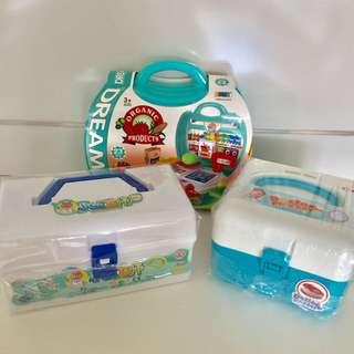 Baby Doctor, Dental & Supermarket Pretend Play Set