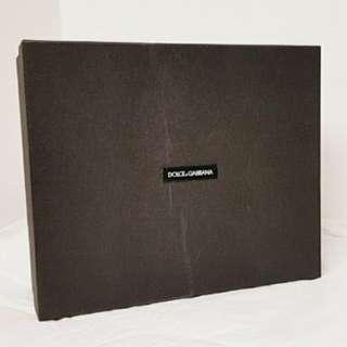 D&G Dolce and Gabbana sneaker box DG 鞋盒