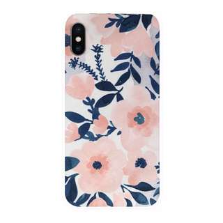 Jujube inspired whimsical watercolor Sakura swirl Hp case (be set quick light superbe fuel cell)