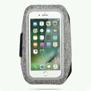 Sports Arm Band (Grey) for iPhone 8