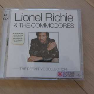 Lionel Richie & The Commodores The Definitive Collection CD