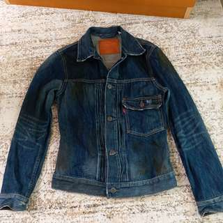 Levi's denim dirty style jacket
