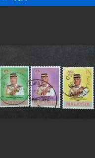Malaysia 1996 Installation Of YDP Agong Complete Set - 3v Used Stamps