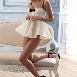 Victoria's Secret Tuxedo Babydoll Lingerie